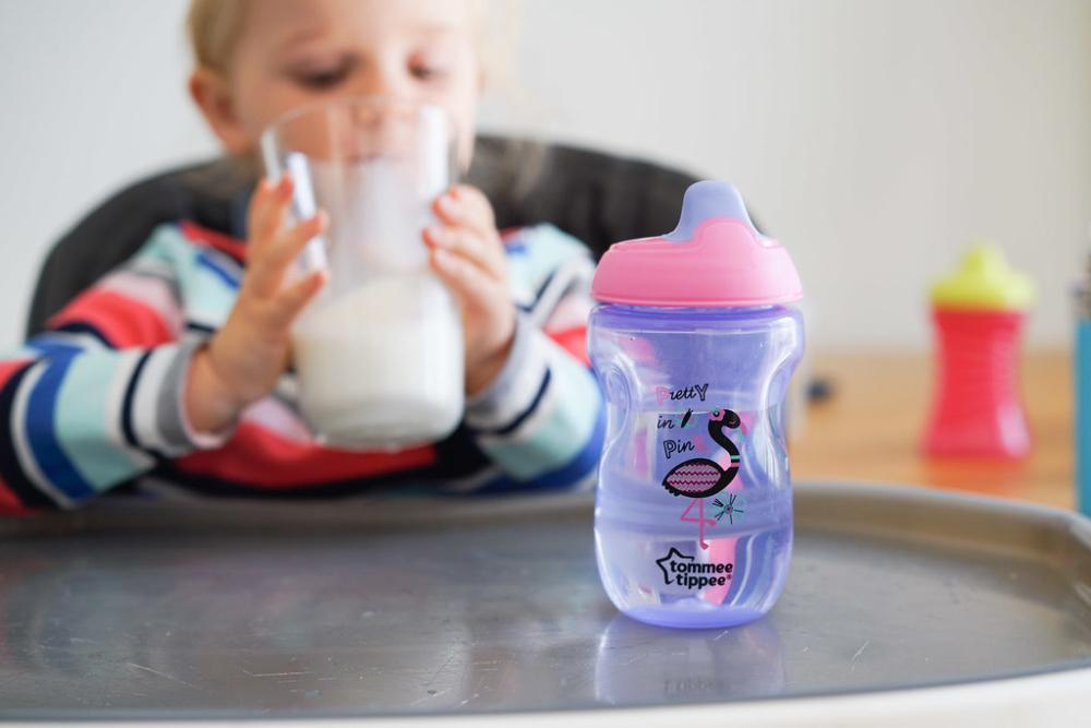 toddler with sippy cup | Infant Oral Health in Palos Heights IL