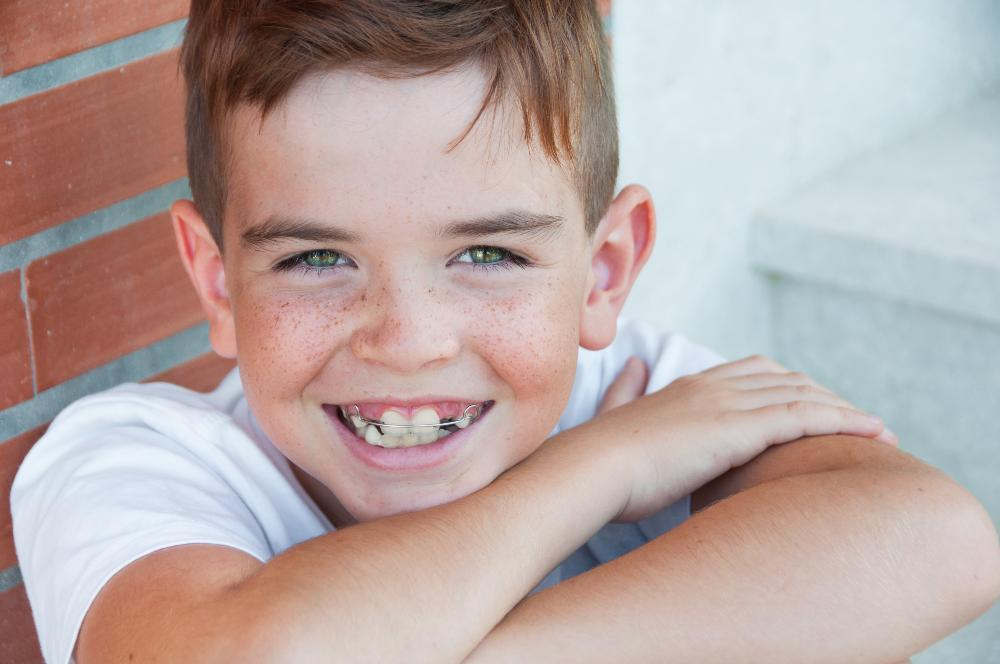 Boy with Braces | Dentist Palos Heights