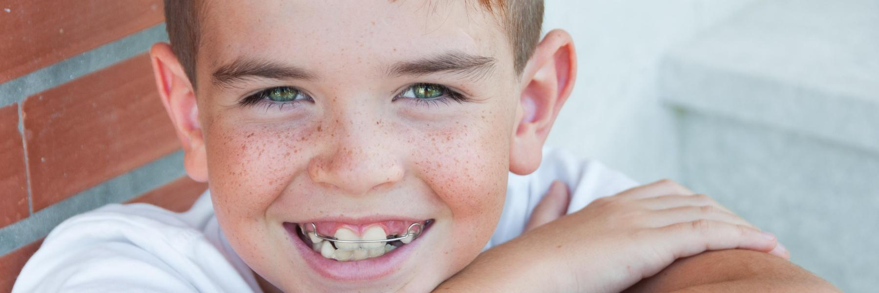 child with braces in palos heights