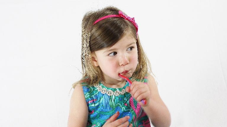 baby with toothbrush | pediatric dentistry | palos heights IL