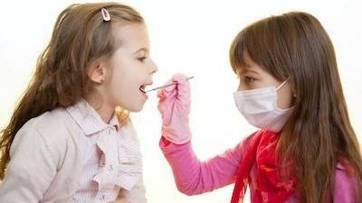 children playing dentist in palos heights IL