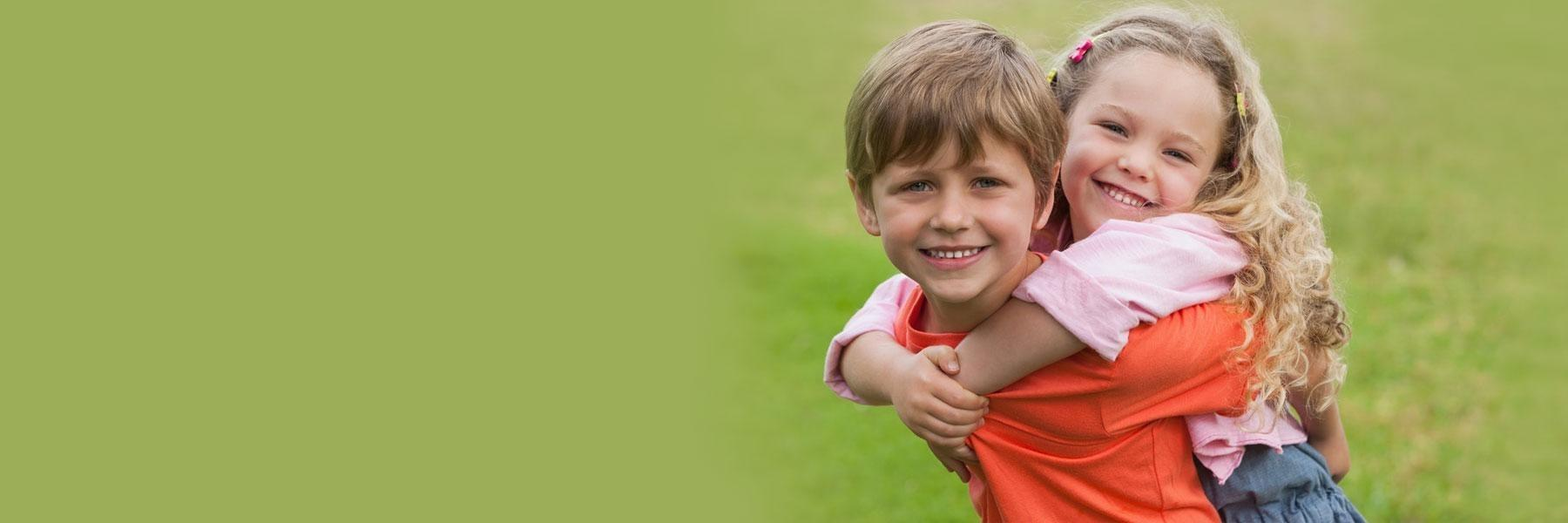 Two Children | Preventative Dentistry for Kids Palos Heights